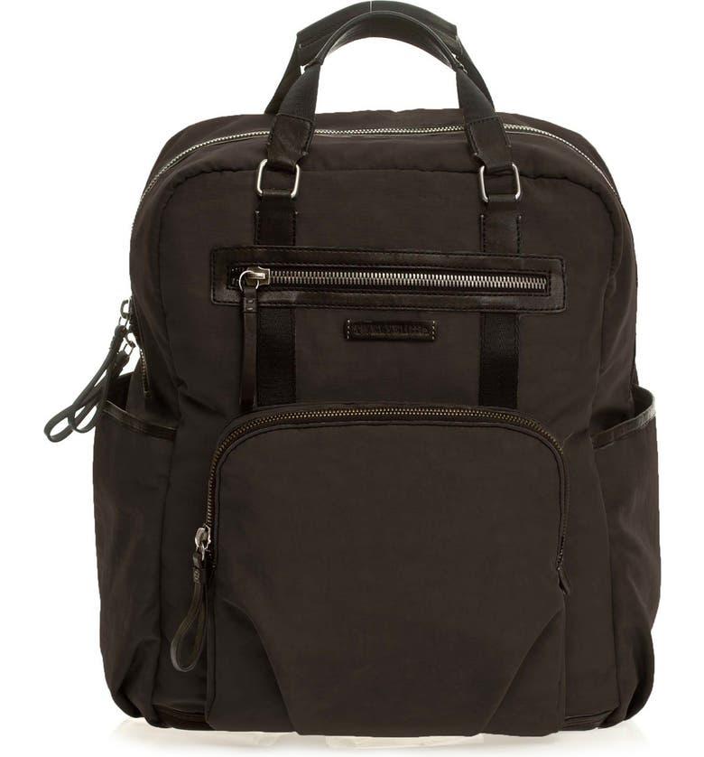 TWELVELITTLE 'Courage Backpack' Unisex Diaper Bag, Main, color, 001