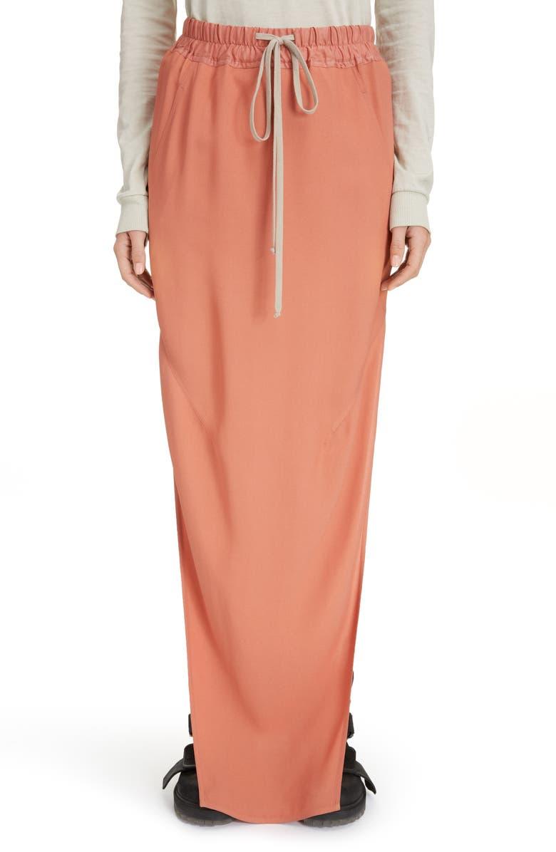 RICK OWENS Dirt Skirt, Main, color, 600
