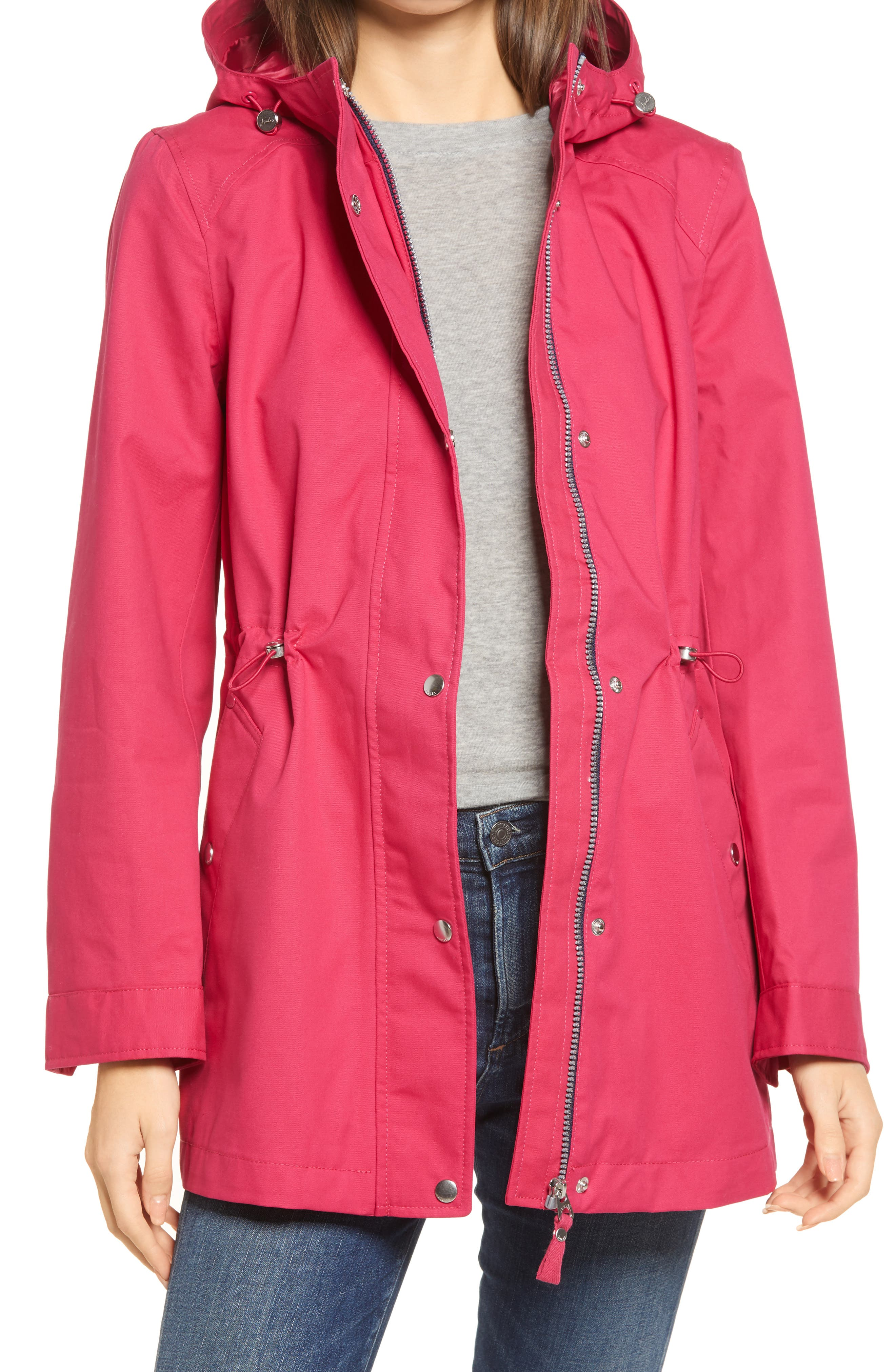 Shoreside Waterproof Hooded Raincoat