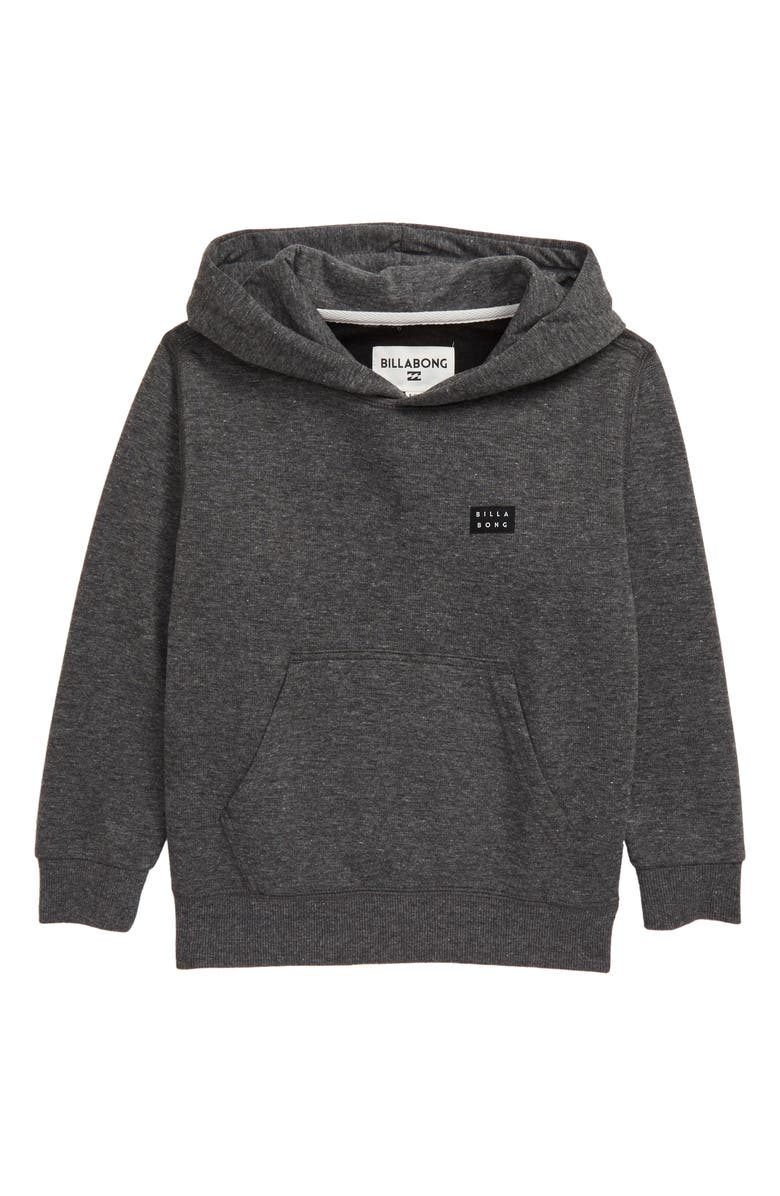 BILLABONG All Day Hoodie Pullover, Main, color, BLACK
