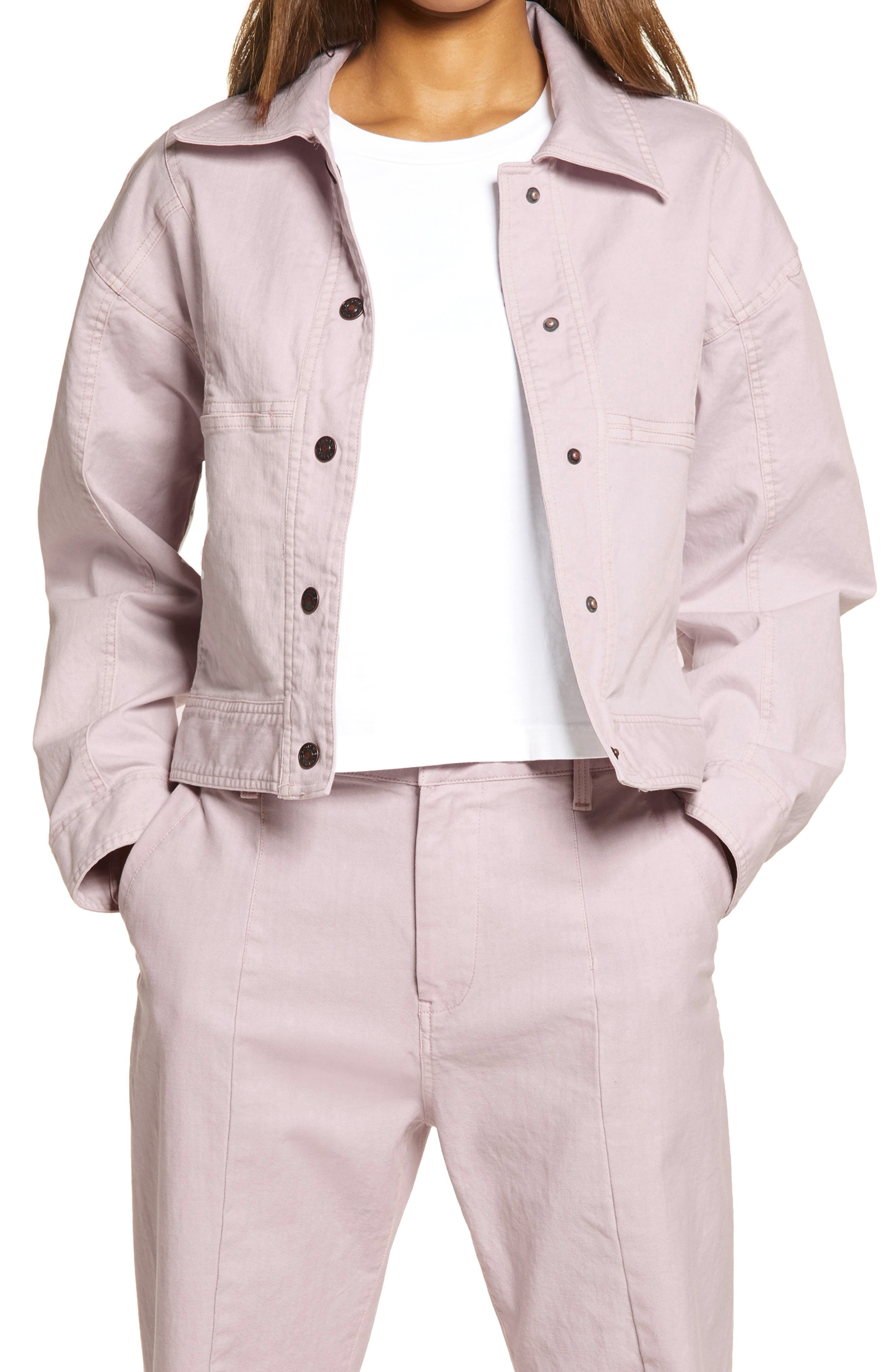 Stretch Cotton Twill Jacket