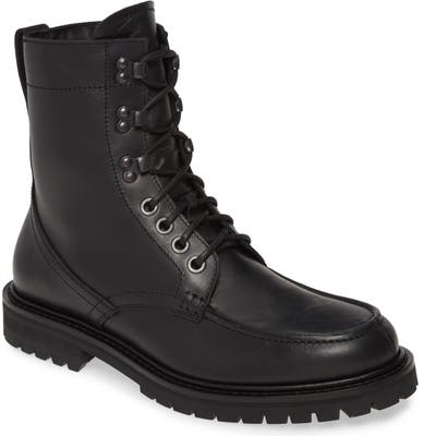 Aquatalia Ira Moc Toe Boot, Black