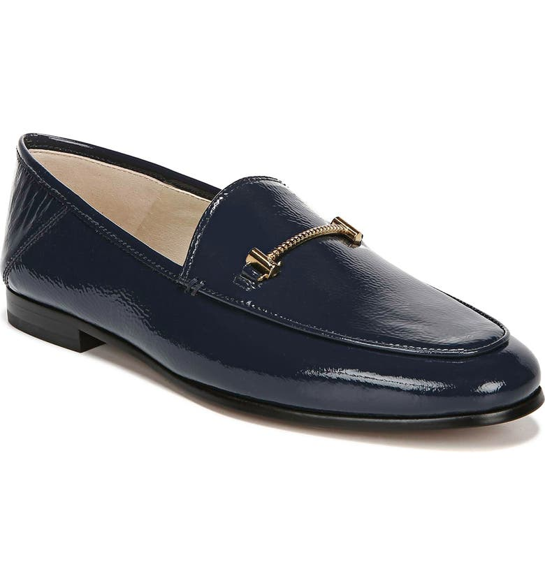 SAM EDELMAN Lior Loafer, Main, color, BALTIC NAVY PATENT LEATHER