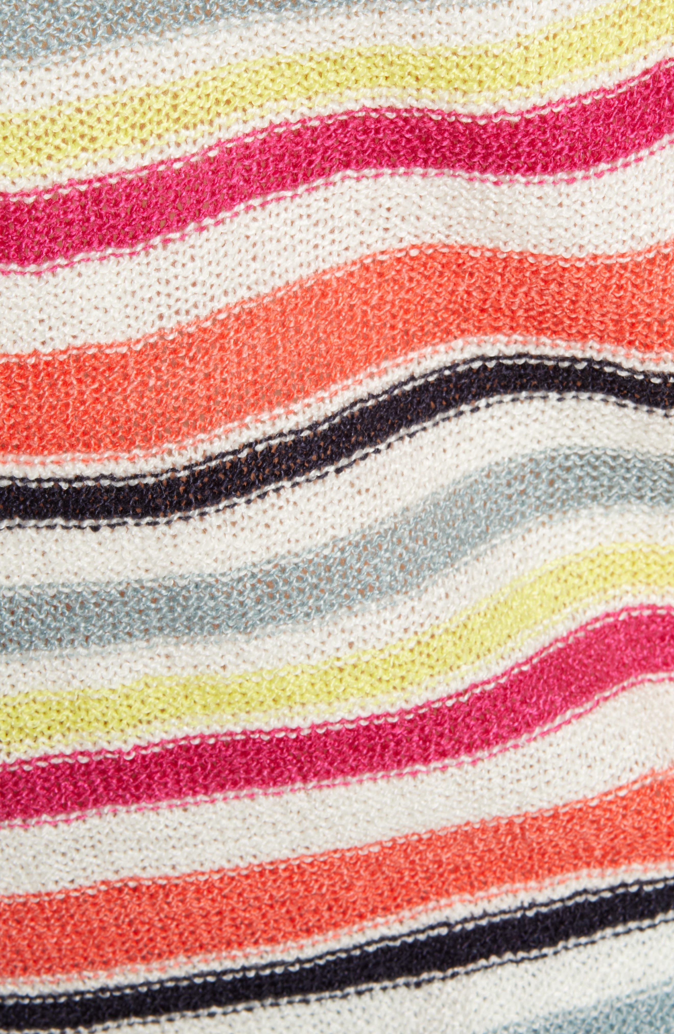 ,                             Aeon Stripe Sweater Tank,                             Alternate thumbnail 5, color,                             IVORY