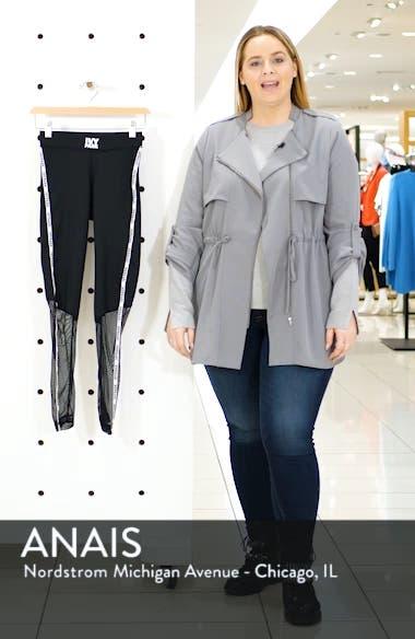 Mesh Panel Side Stripe Leggings, sales video thumbnail