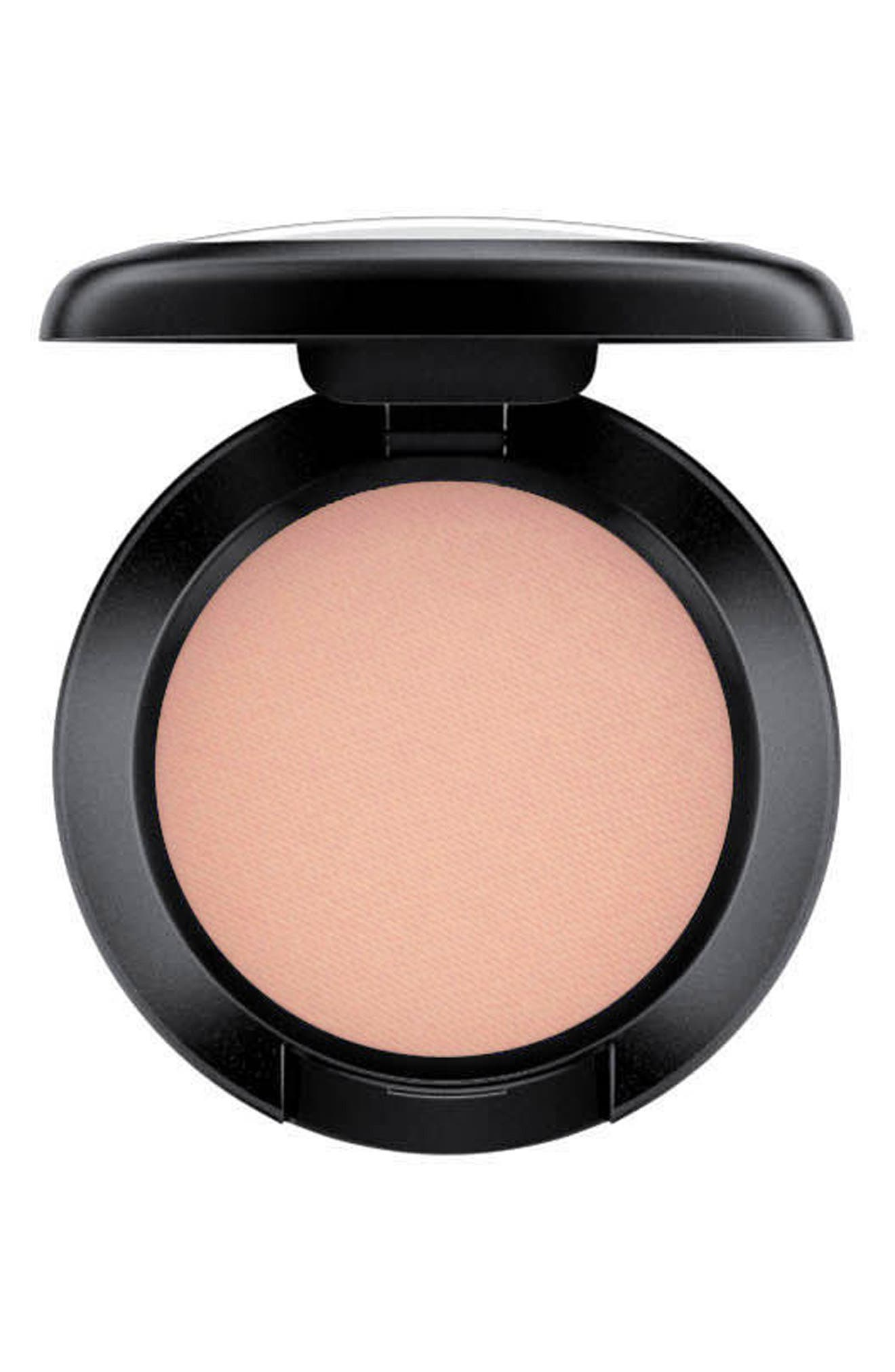 What it is: A matte-finish eyeshadow that provides rich, saturated color without shine in an even, easy-to-blend, long-lasting formula. What it does: MAC Eyeshadow is a highly pigmented pressed formula that delivers high color payoff with a single swipe. The revamped matte-finish formula is long-lasting and can be used wet or dry. How to use: Apply over your eye area including both your lid and crease with an eye shader brush, using a pressing