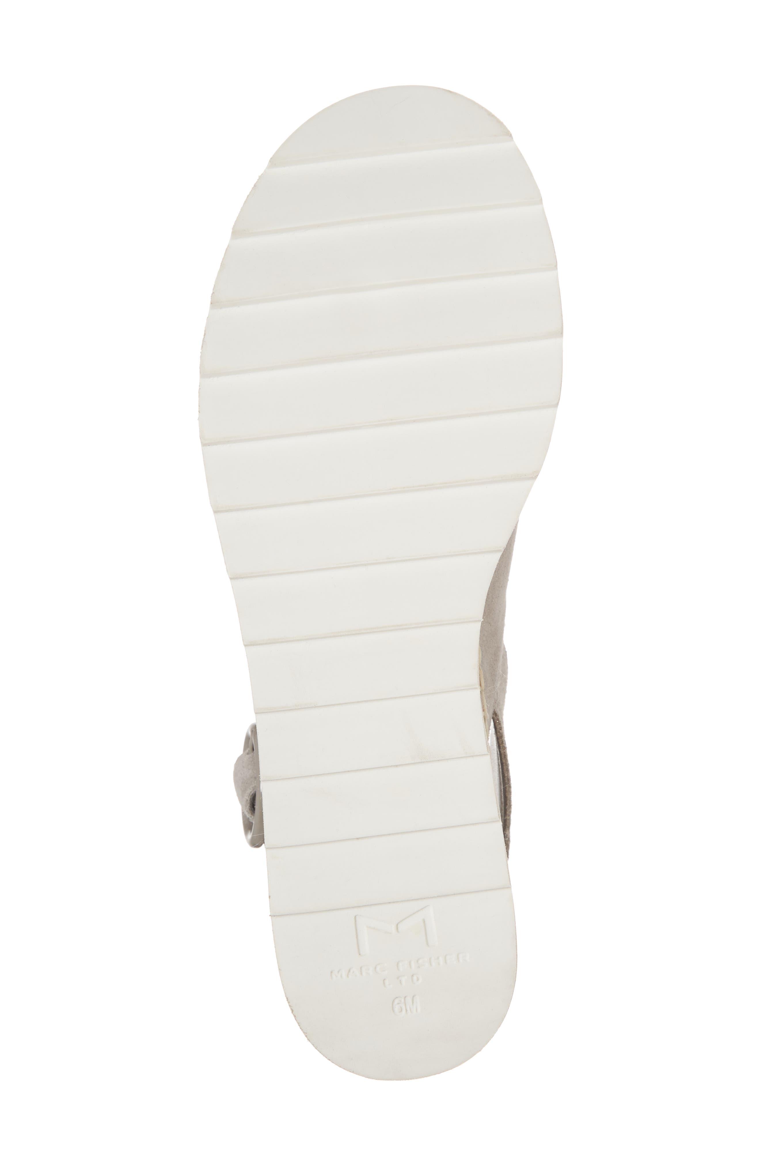 ,                             Glenna Platform Slingback Sandal,                             Alternate thumbnail 6, color,                             GREY SUEDE