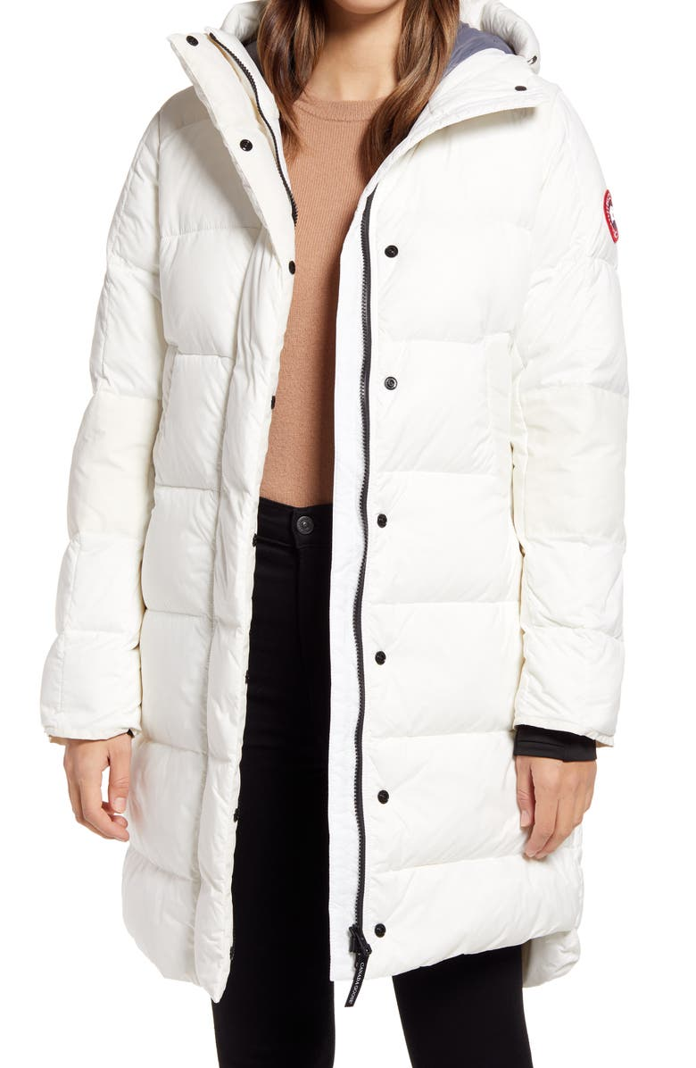 CANADA GOOSE Alliston Packable Down Coat, Main, color, NORTH STAR WHITE