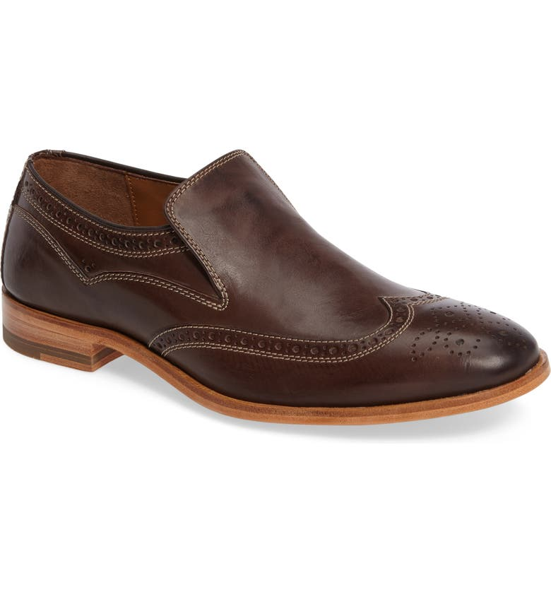 J&M 1850 Graham Wingtip Loafer, Main, color, 201