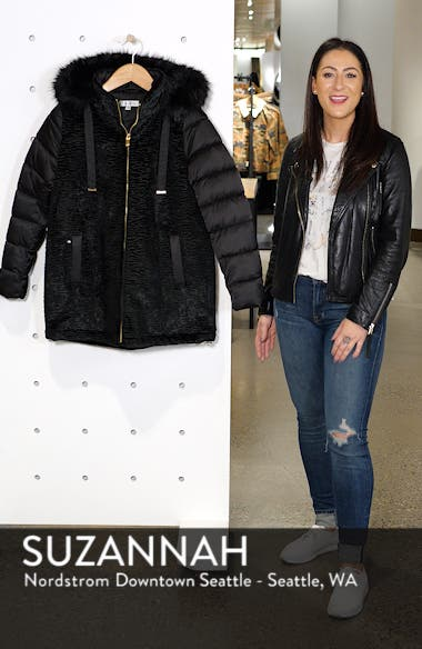 Mixed Media Puffer Jacket, sales video thumbnail