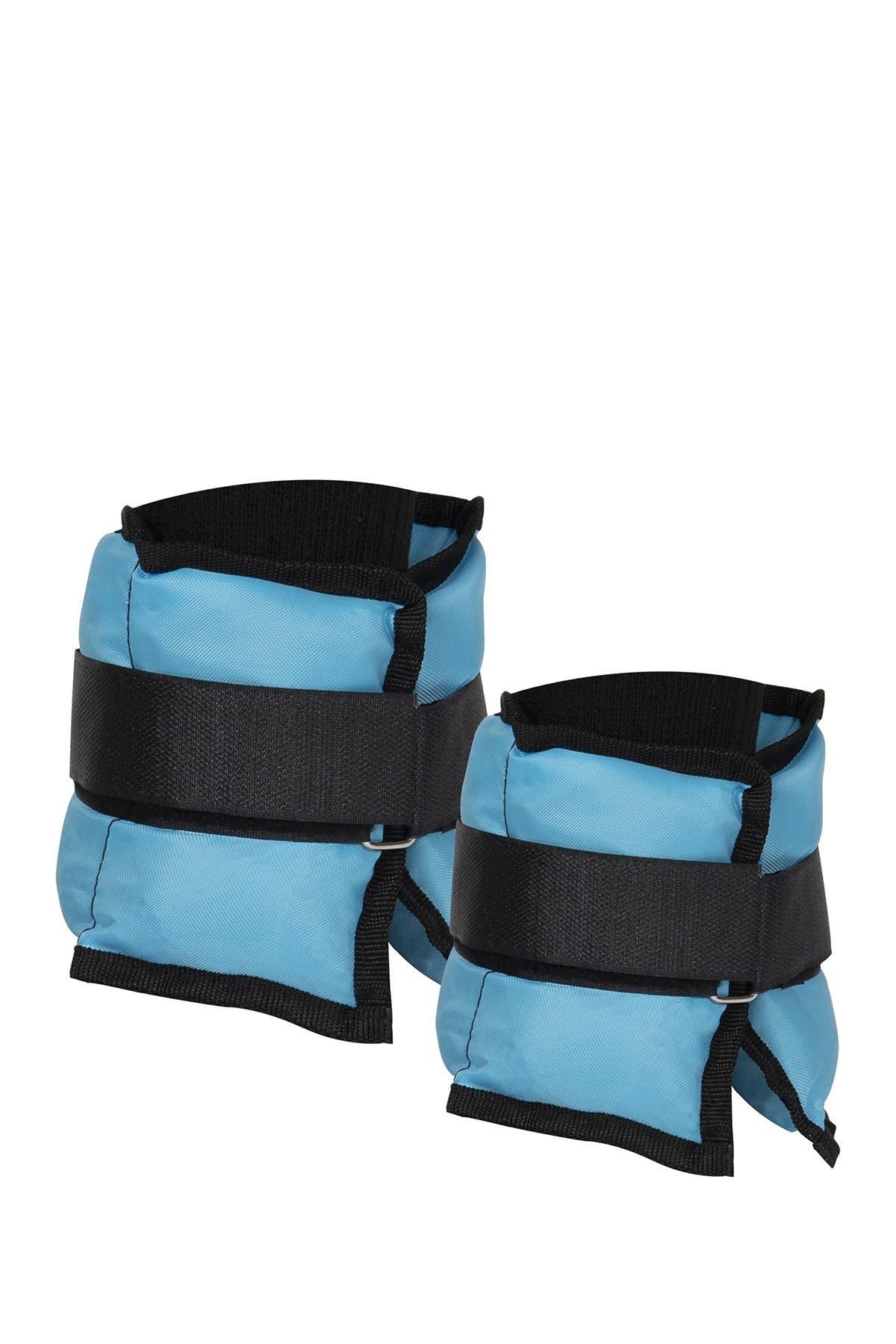 Image of MIND READER 3lb Adjustable Ankle & Wrist Weights - Set of 2