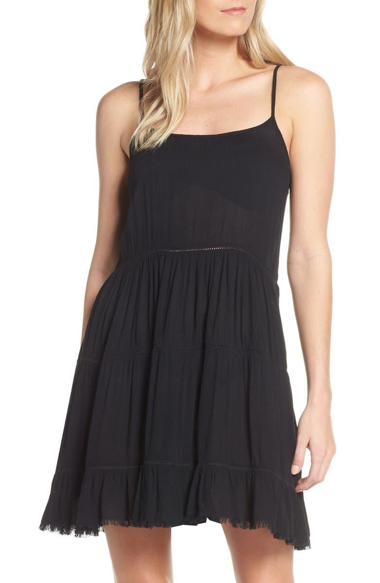 ELAN Cover-Up Minidress, Main, color, 001