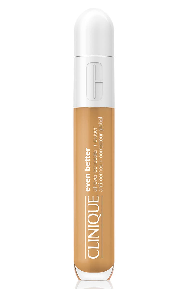 CLINIQUE Even Better All-Over Concealer + Eraser, Main, color, WN76 TOASTED WHEAT