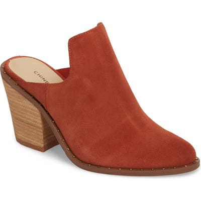 Chinese Laundry Springfield Mule Bootie, Brown