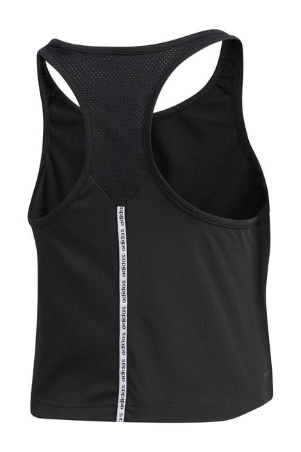 Image of adidas Cropped Racerback Tank Top