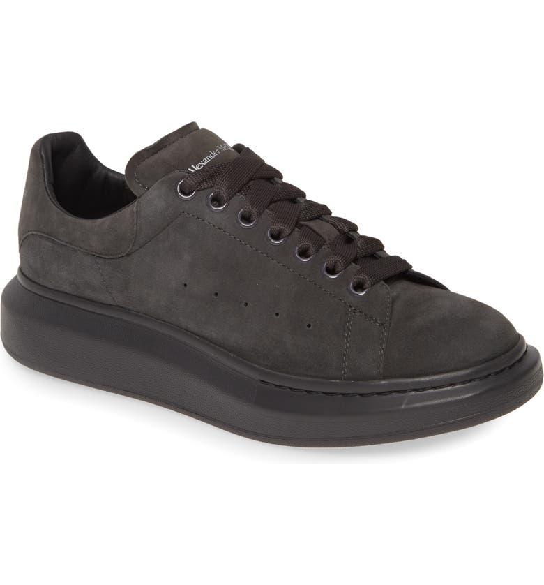 ALEXANDER MCQUEEN Oversize Low Top Sneaker, Main, color, COAL/ COAL