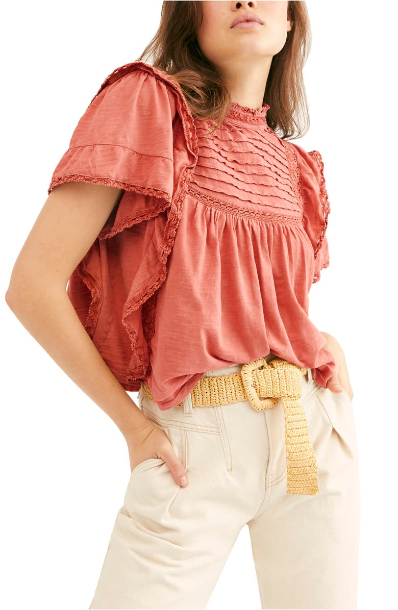 FREE PEOPLE Le Femme Top, Main, color, CANYON ARROYO
