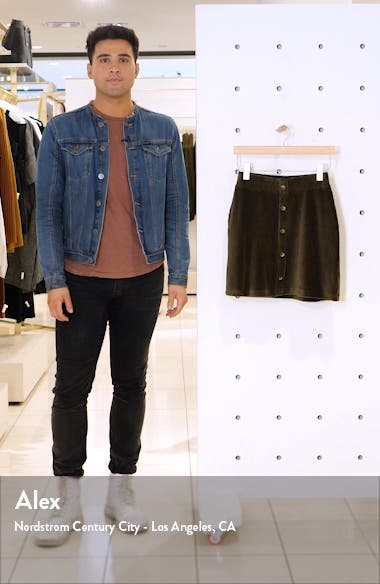 Paris Wide Wale Corduroy Skirt, sales video thumbnail