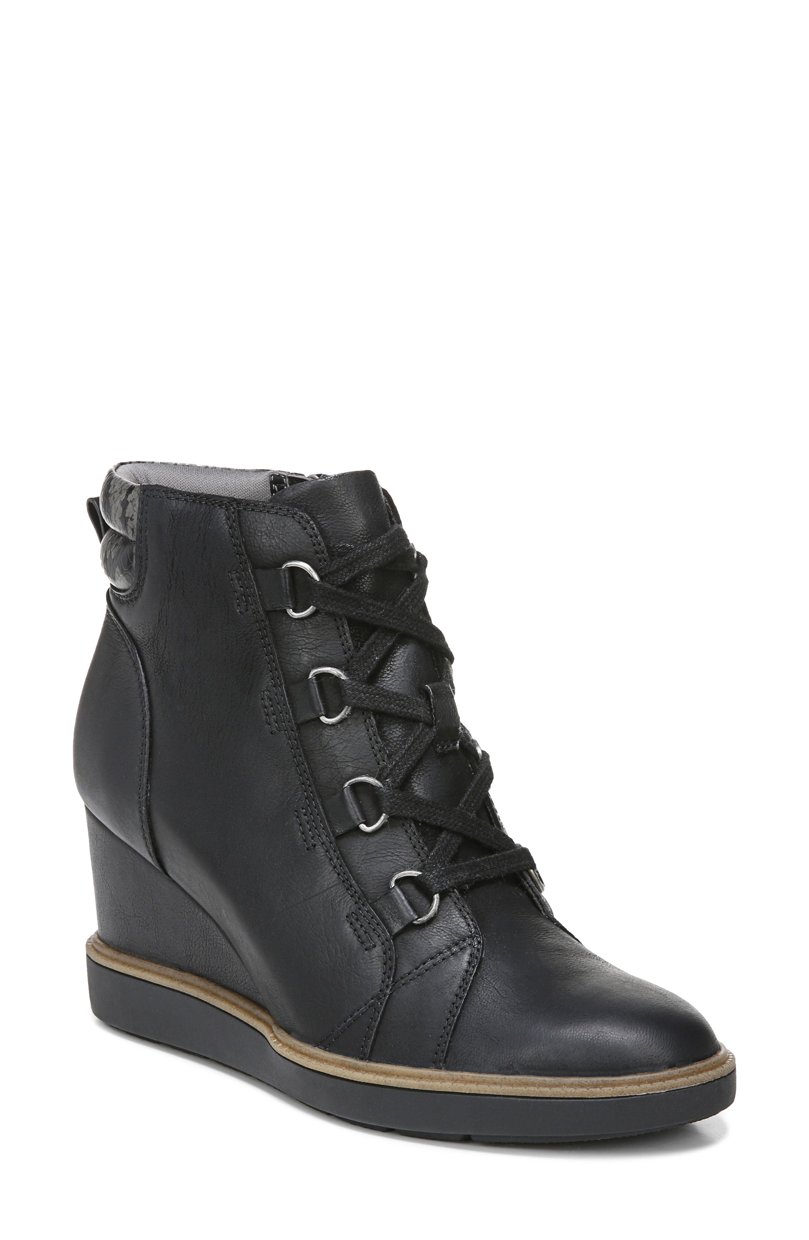 Just For Fun Wedge Bootie