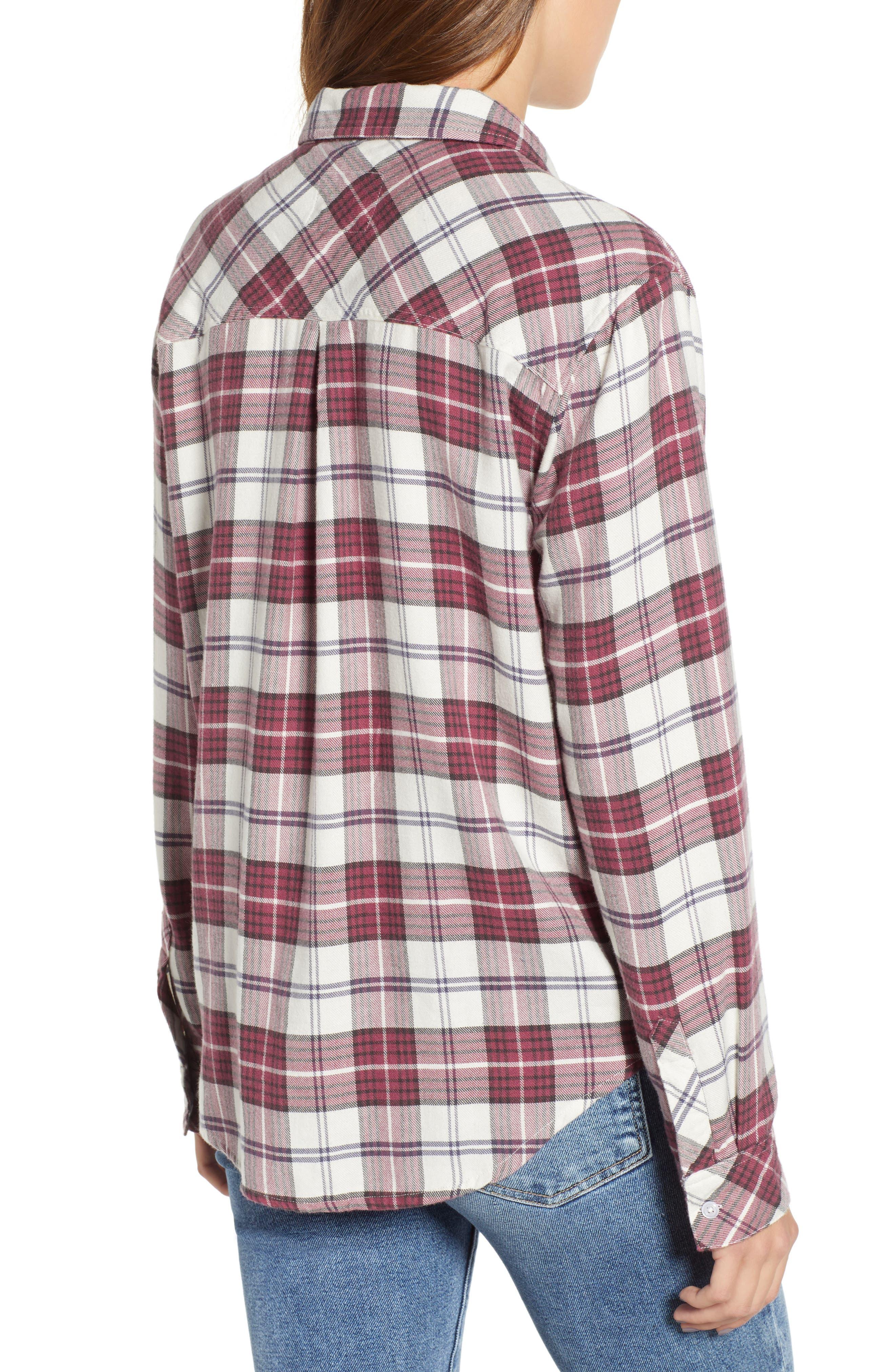 ,                             Hunter Plaid Shirt,                             Alternate thumbnail 448, color,                             938