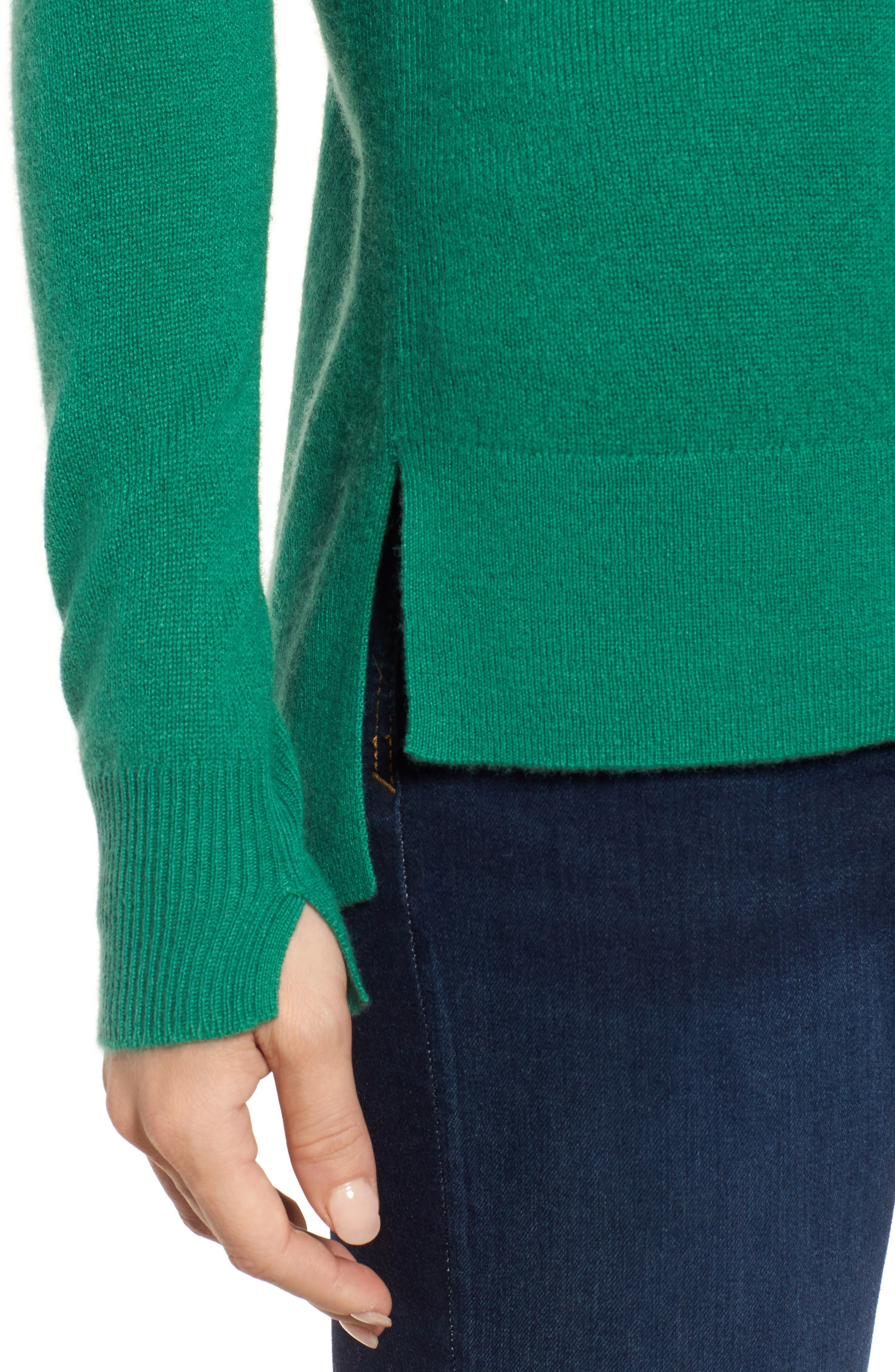 ,                             Crewneck Cashmere Sweater,                             Alternate thumbnail 75, color,                             300