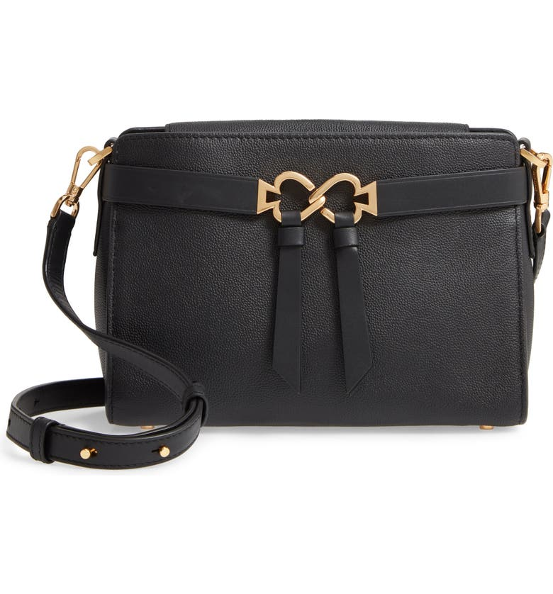 KATE SPADE NEW YORK medium toujours crossbody bag, Main, color, BLACK