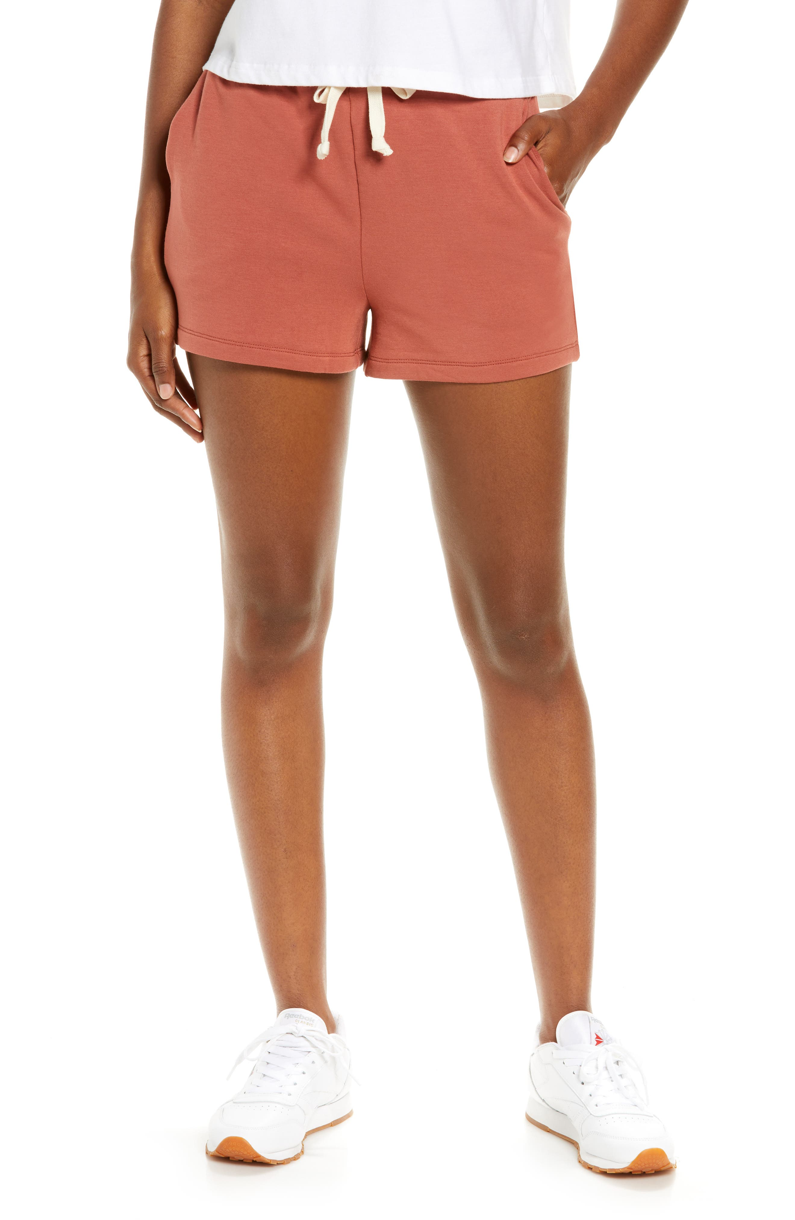 Superbrushed Piped Easygoing Sweatshorts