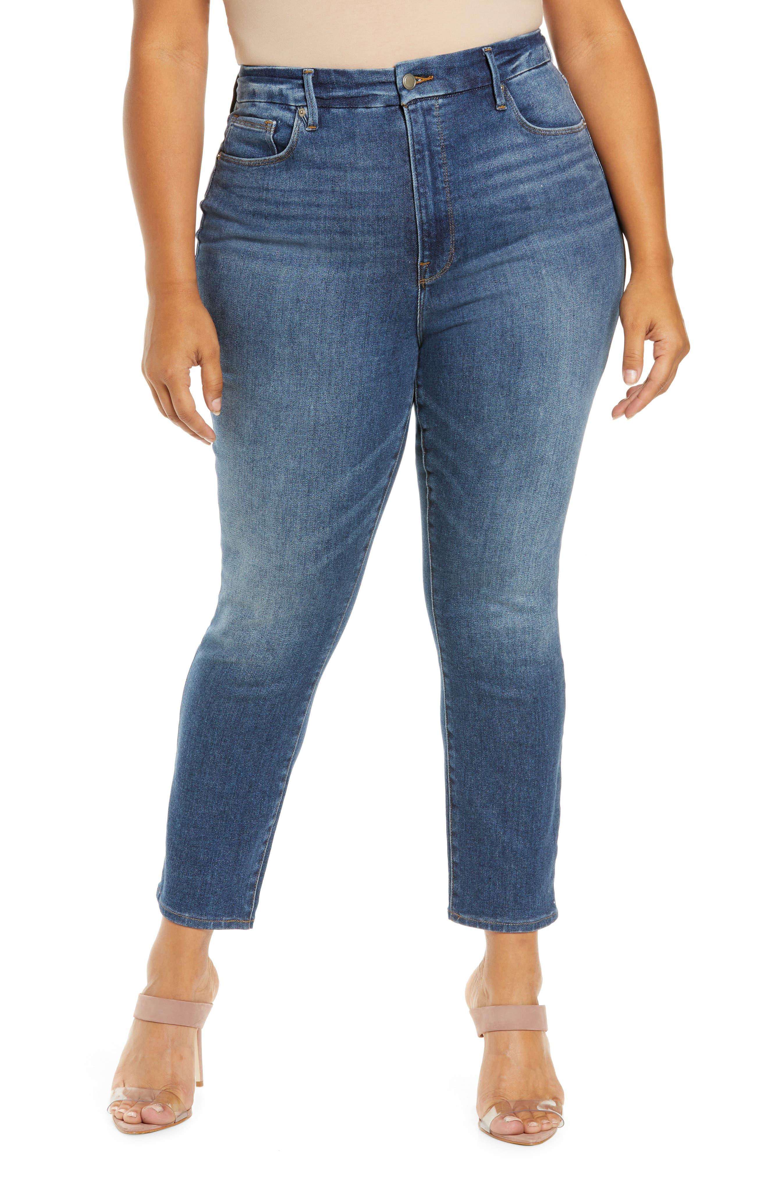 Women's Good American Good Leg Ankle Skinny Jeans