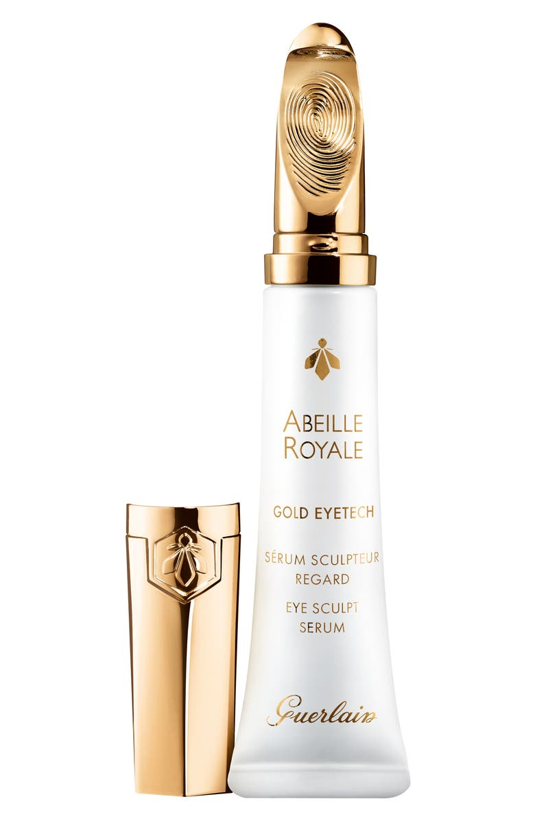 GUERLAIN Abeille Royale Eye Sculpt Serum with 22K Gold-Coated Applicator, Main, color, NO COLOR