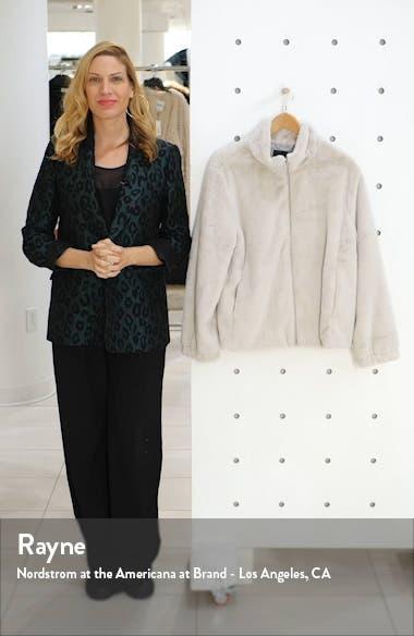 Sami Faux Fur Jacket, sales video thumbnail