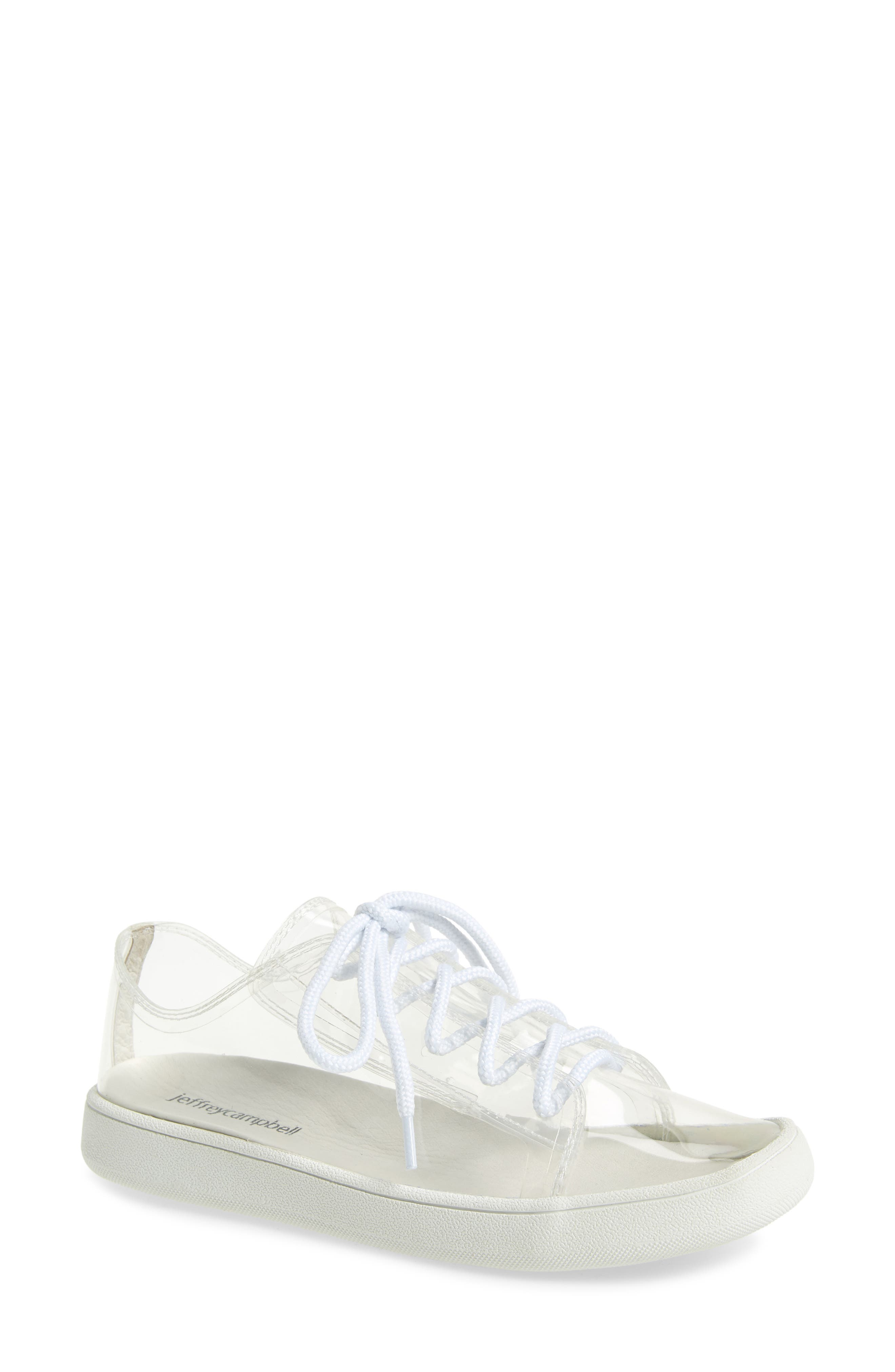 Ganador 2 Clear Low Top Sneaker, Main, color, 186