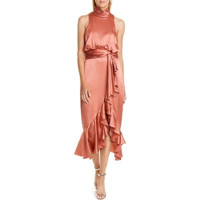 Cinq A Sept Silk Dress, Pink