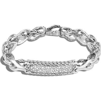 John Hardy Asli Diamond Id Bracelet