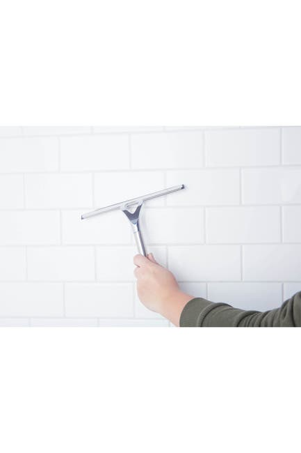 Image of Kennedy International Inc. Chrome Supreme Shower Squeegee