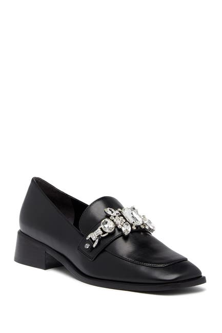 Image of Marc Jacobs Tilde Embellished Leather Loafer