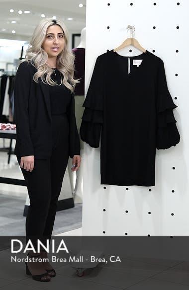 Tiered Ruffle Sleeve Shift Dress, sales video thumbnail