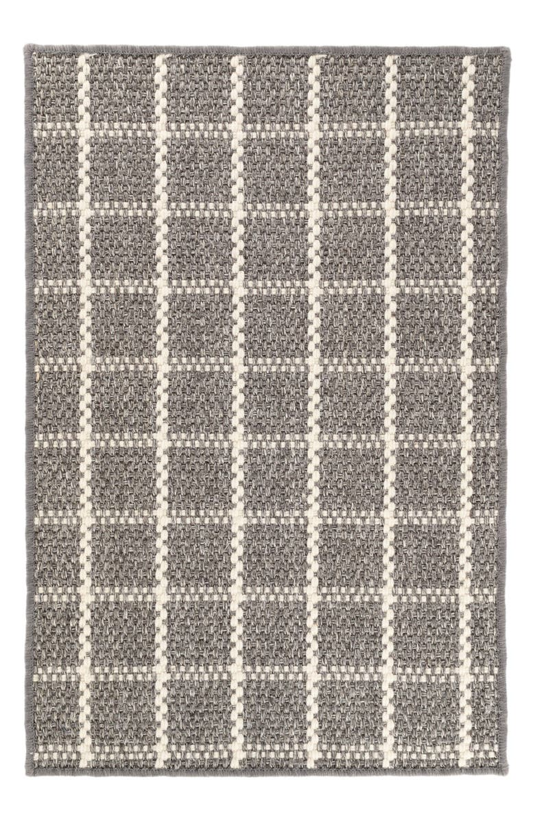 DASH & ALBERT Framework Sisal & Wool Rug, Main, color, GREY