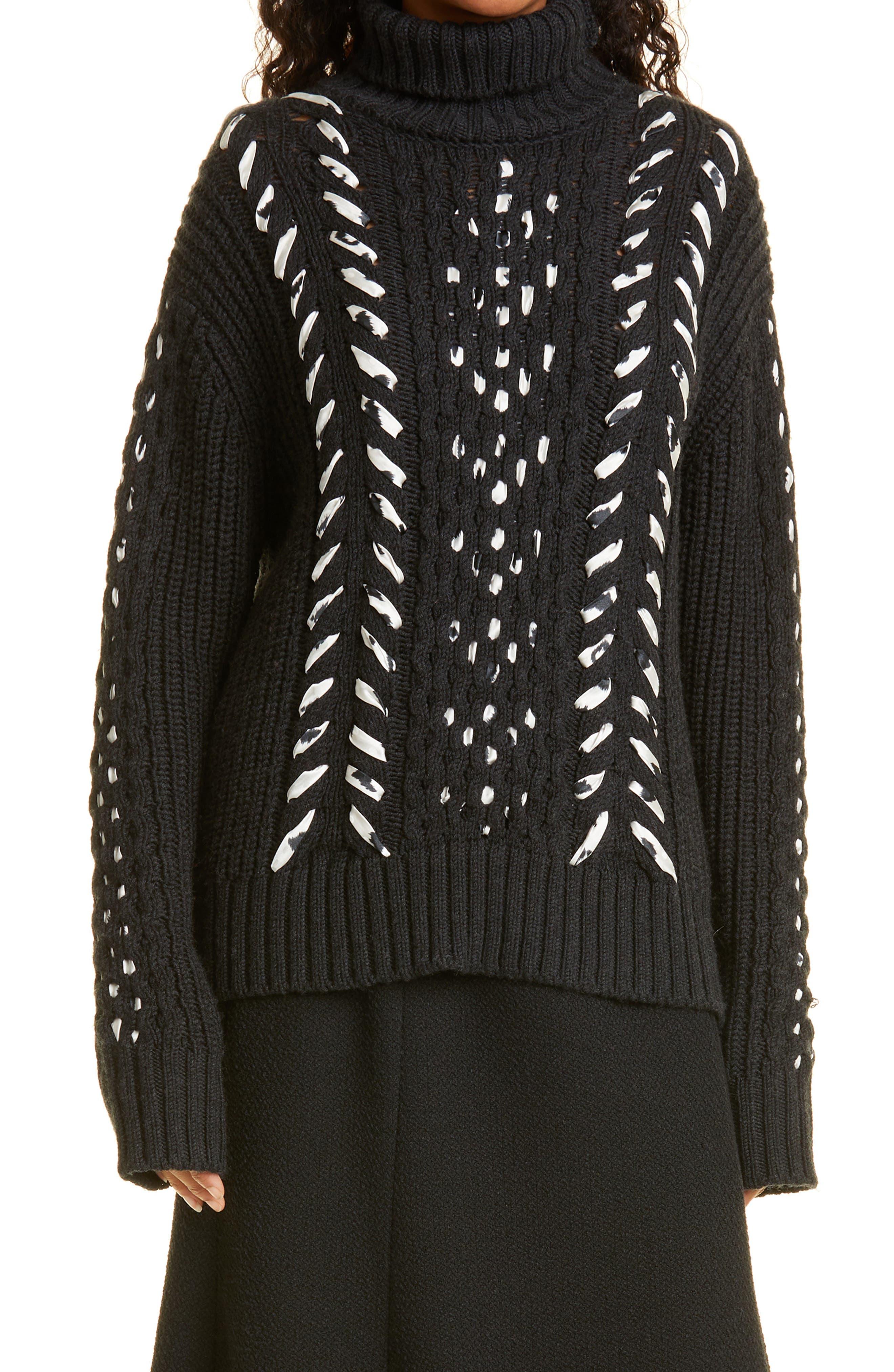 Women's Jason Wu Merino Wool Turtleneck Sweater