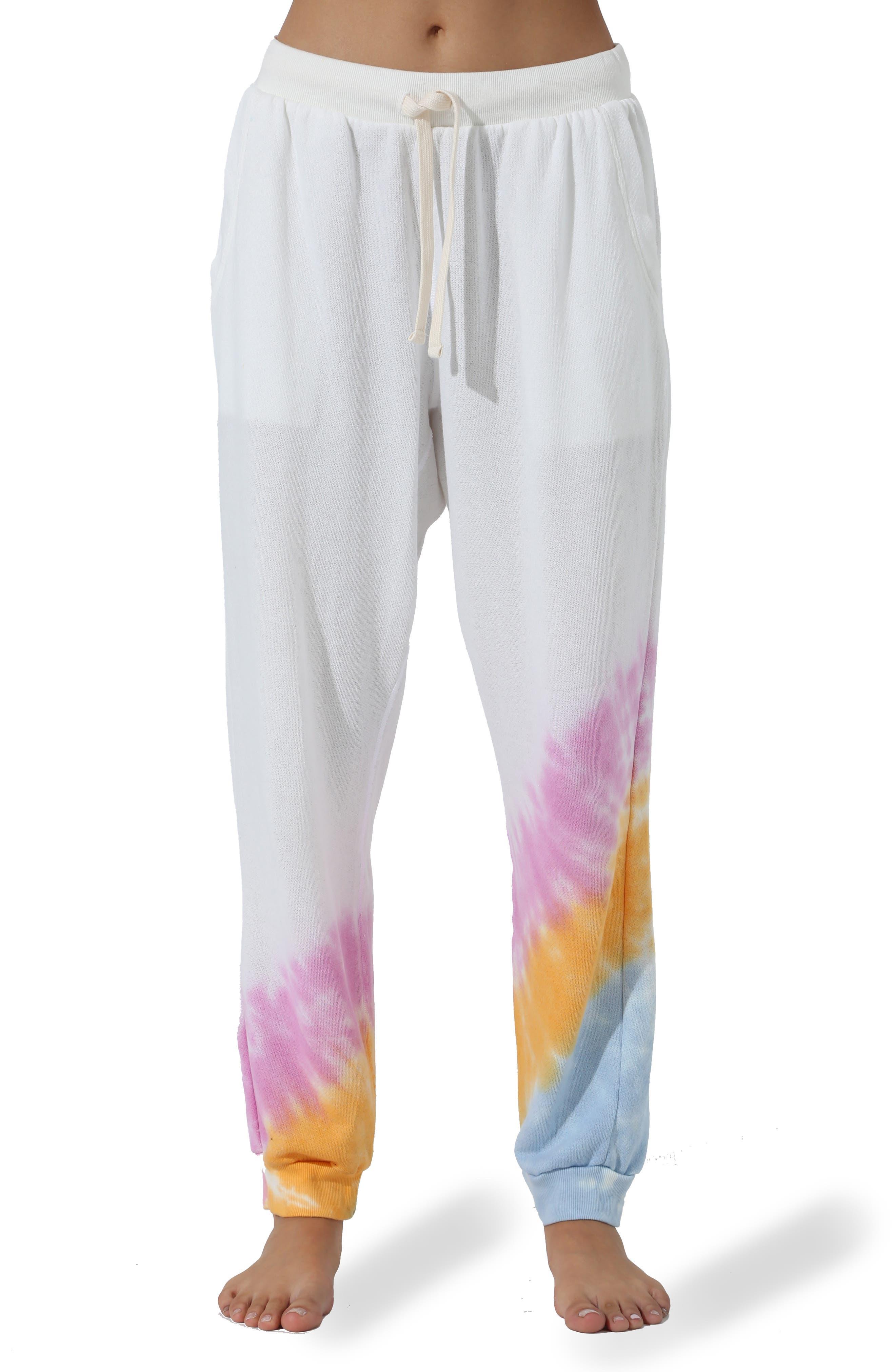 Harbor Echo Tie Dye Fleece Sweatpants