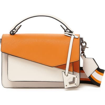 Botkier Cobble Hill Leather Crossbody Bag - White