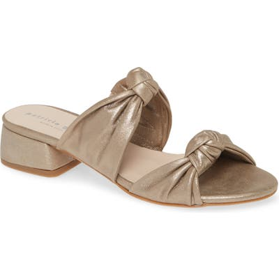 Patricia Green Bobbie Beaux Slide Sandal, Brown