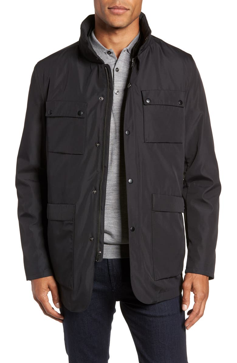 ZACHARY PRELL Oak 3-in-1 Jacket, Main, color, BLACK