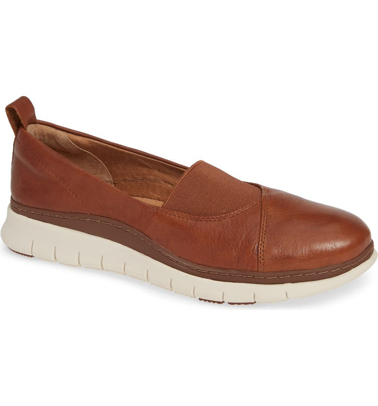 VIONIC Linden Loafer, Main, color, MOCHA LEATHER