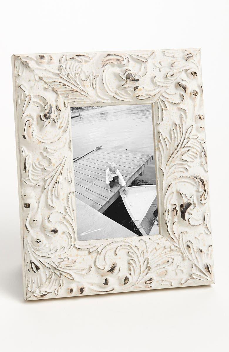 ELSA L Distressed Wood 4x6 Picture Frame, Main, color, 900