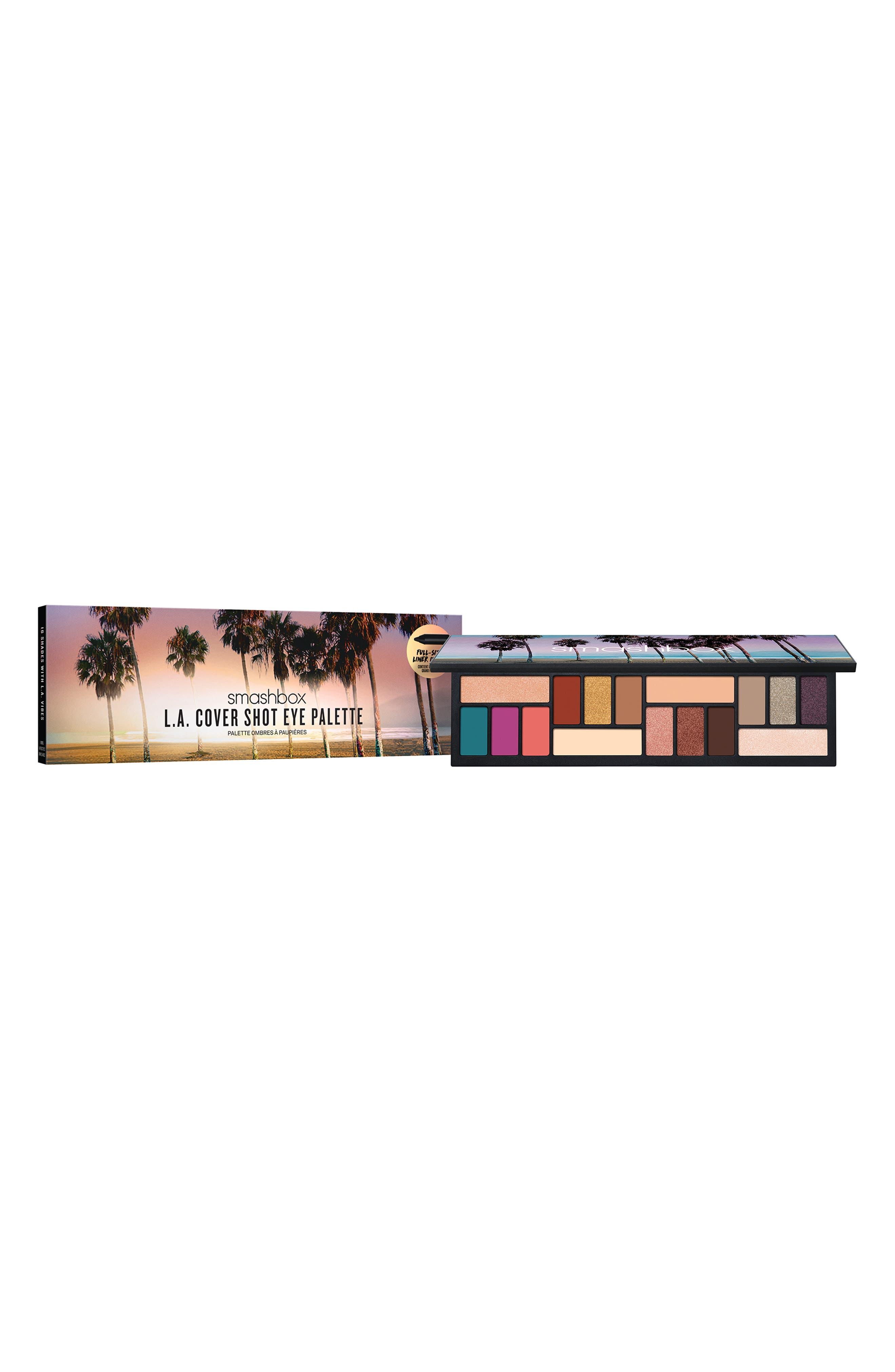 ,                             L.A. Cover Shot Eyeshadow Palette,                             Alternate thumbnail 8, color,                             NO COLOR