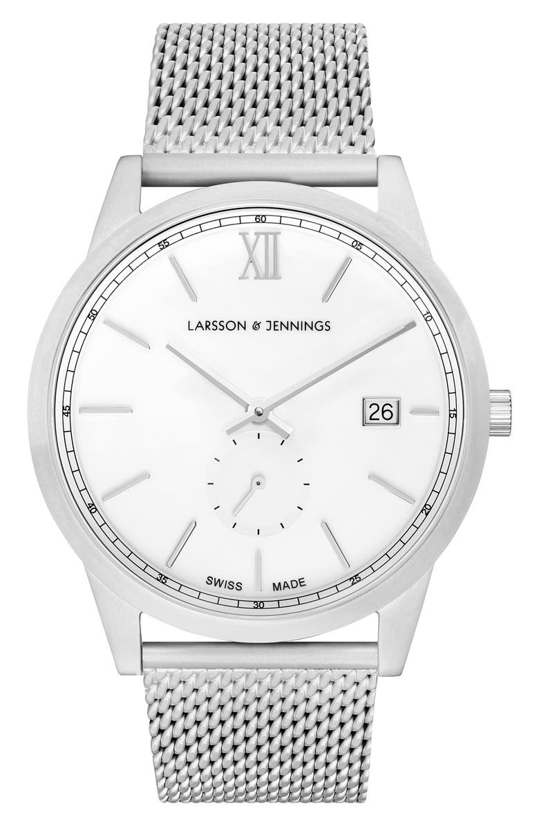 LARSSON & JENNINGS Saxon Bracelet Watch, 39mm, Main, color, 040