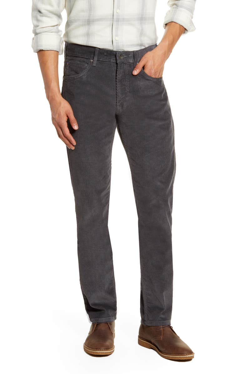 PATAGONIA Straight Fit Corduroy Pants, Main, color, FORGE GREY/ FORGE GREY