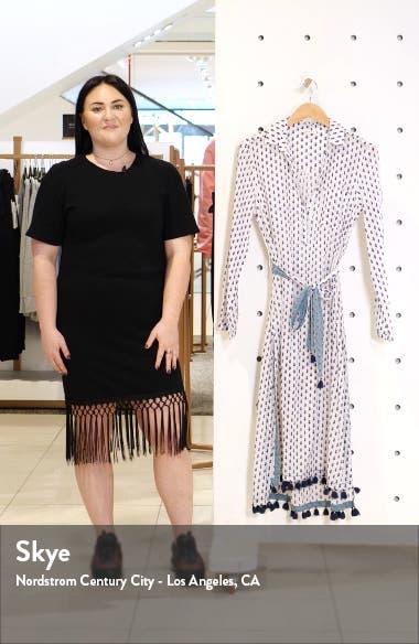 Pema Denae Kurta Cover-Up Shirtdress, sales video thumbnail