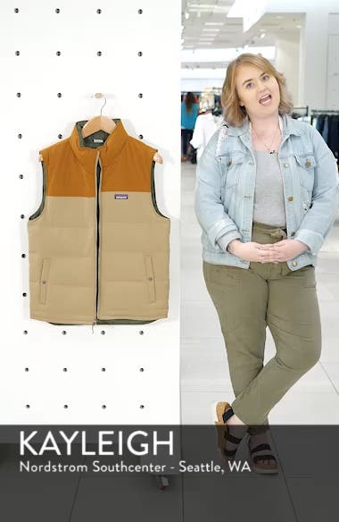 'Bivy' Reversible Down Fill Vest, sales video thumbnail