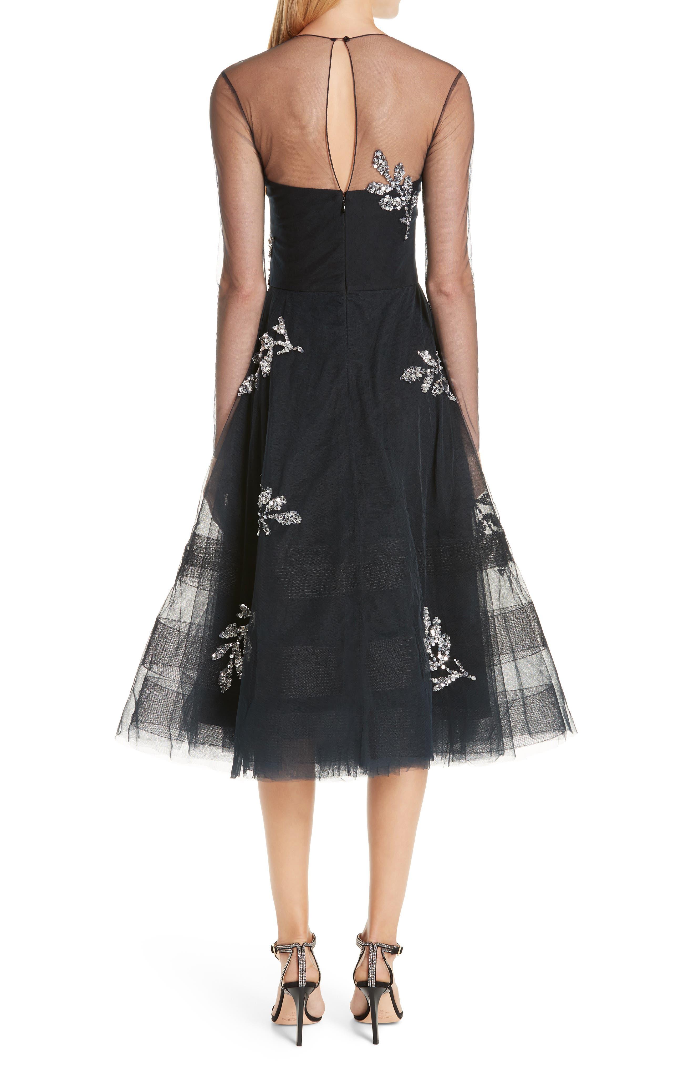 ,                             Drs Candille Fit & Flare Dress,                             Alternate thumbnail 2, color,                             001